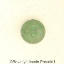 Aventurine Semi-precious 9mm 3ct Cabochon Gemstone in Green