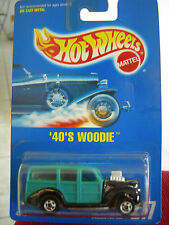 Hot Wheels 40's Woodie #217 from 1991! All Blue Card