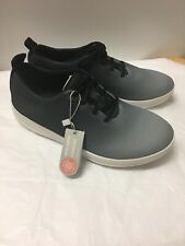 766844ca740005 FitFlop Womens Ombre Black Gray Sporty Mesh Sneaker Tennis Shoes Size 6.5