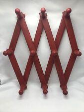 10 Peg Accorian Folding Wall Hanger For Mugs, Clothes, Hats, Etc
