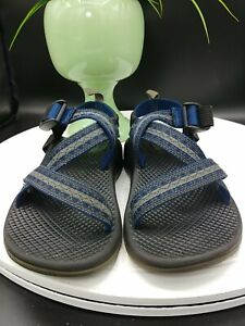 Chaco Z/1 Kids Boys/Girls Size 1 Blue Gray Sport Sandals Ecotread Non Marking
