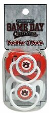 NEW Game Day Outfitters 2 Pack Pacifier AUBURN UNIVERSITY