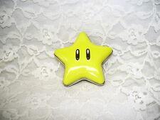 SUPERMARIO BROS NINTENDO TIN BOX SMILEY FACE MINIATURE STAR 2011