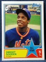 2018 Topps Dwight Gooden #83AS-55 1983 All-Star 35th Anniversary New York Mets