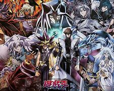 Yu Gi Oh Poster Anime Manga Game King Japanese Wall Art 16x20