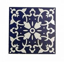 12X Ceramics Traditional Vintage Splash back Feature Wall Tile 10x10cm - BW20SM