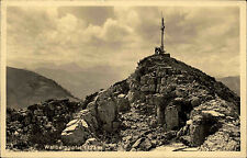 1932 Stempel Rottach-Eggern Wallberg Bayern Mangfallgebirge Gebirge Alpen Gipfel
