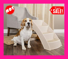 New ListingPet Dog Stairs Tall High Ladder Ramp Steps Portable