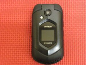 Kyocera DuraVX 4G LTE E4610 16GB Black Rugged Flip Cell Phone Verizon Wireless