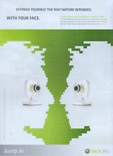 Xbox 360 Express Yourself With Your Face 2007 Magazine Advert #3726
