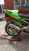 Kawasaki ZX636 B1H 2002- 04' Polished Stainless GP PRO RACE Motorbike Exhaust