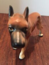 Vtg Collectible Ceramic Porcelain Dog Figurine Doberman Japan