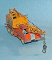 DINKY SUPERTOY Meccano England #972 COLES 20 TON Lorry Mounted CRANE plastic hub