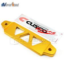 Universal Golden Billet Aluminum Battery Tie Down Bar Bracket for Car Auto 14cm