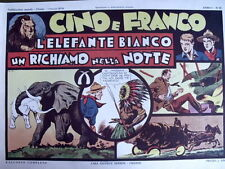 Avventure Cino e Franco - L' Elefante bianco - 1974 Anastatica Nerbini [C21C]