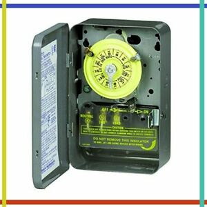 ELECTROMECHANICAL TIMER 208-277V 40A 1-23 Hr 1-12 Cycles Per Day By INTERMATIC