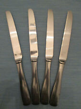 SET 4 DINNER KNIVES! Vintage LIFETIME CUTLERY stainless: LCU64 pattern: LOVELY!