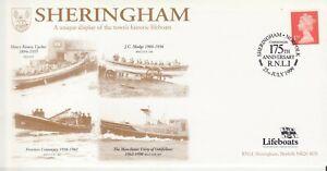 GB Stamps RNLI Souvenir Cover Sheringham Historic Lifeboats, 175th Ann RNLI 1999