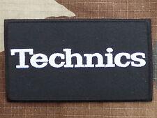 M002 ECUSSON PATCH THERMOCOLLANT aufnaher toppa TECHNICS dj mk 2 platine vinyle