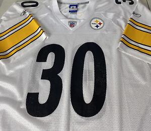 Reebok On Field Pittsbugh Steelers Jersey #30 Perry Patch Logo Printed Sz XXL