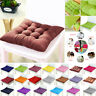 IL 1/2PCS Removable Chair Cushion Seat Pad Dining Room Thicker Patio Pillow Pad