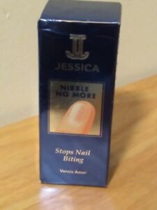 Jessica Cosmetics = Nibble No More = Stops Nail Biting .5 fl oz   New