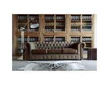 Sofagarnitur Polster Couch Sofa Klassik Chesterfield 3 Sitzer Set Neu NAPOLI IV