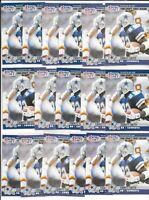 1990 Pro Set II Emmitt Smith Dallas Cowboys RC LOT (17) CLEAN #685 HOF MVP