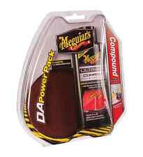 MEGUIAR'S G3501 DA POWERPAK COMPOUND & DETAILING PAD DRILL OPERATED-NEW