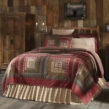 COUNTRY PRIMITIVE RUSTIC TACOMA PATCHWORK QUILT COLLECTION VHC BRANDS