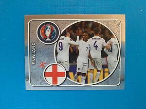 Panini Euro 2016 Swiss Star Edition Sticker n.121 Team Photo England