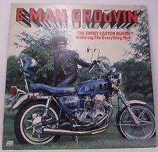 """THE JIMMY CASTOR BUNCH : E-MAN GROOVIN Album Vinyl LP 33rpm 12"""" Excellent"""