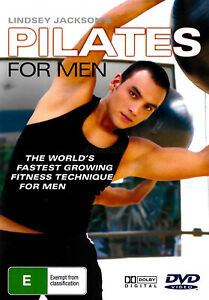 LINDSEY JACKSON PILATES FOR MEN WORKOUT -Educational DVD Series New Region ALL