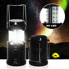 Collapsible 30 LED Camping Lantern Portable Hiking Night Light Lamp Flashlight
