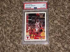 Michael Jordan 1992 NBA Hoops 1992-93 Chicago Bulls NEW LABEL HOF #30 PSA 9 MINT