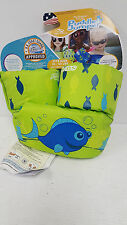 NEW COLEMAN Stearns Puddle Jumper Swimming Life Jacket Vest Green Blue Fish