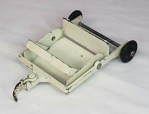 Vintage John Deere 140 Maintenance Set Garden Tractor Dirt Scraper By Ertl 1/16