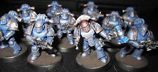 40K Space Marines Tactical Squad with Mk III power armor painted