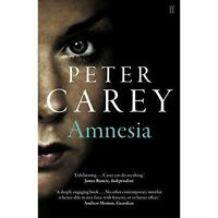 """AS NEW"" Amnesia, Carey, Peter, Book"