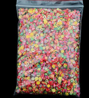 1000Pcs 3D Acrylic Tips Fruit Flower Glitters Decoration Manicure for Nail Art