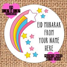 Eid Mubarak personalised stickers