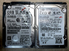 Lot of 2 WORKING 500gb Laptop Hard Drives Hitachi 2.5
