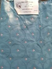 "Seafoam Green Geometric Circle Brocade Upholstery Fabric 56"" W x 1 2/3 yd L"