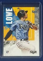 2019 Topps Fire BRANDON LOWE Rookie Card RC Tampa Bay Rays