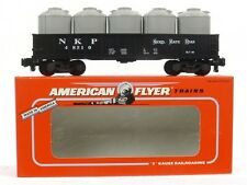 American Flyer Lionel Nickel Plate Road Gondola 6-48510 S Gauge Model Trains