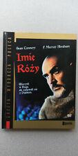 DVD Imie Rozy + booklet The Name of the Rose Polski Film Polish English dubbing