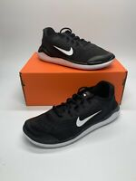 New youth  Nike Free RN 2018 Black/White Running Shoes AH3451-003