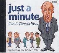 Just A Minute Classic Clement Freud 2CD Audio BBC Radio 4 Comedy Game Show