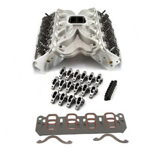 Ford 302 351 Cleveland Hyd Flat Tappet SS Cylinder Head Top End Engine Combo Kit