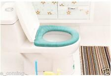 NEW TOILET SEAT CLOTH SOFT WASHABLE LID TOP COVER PAD CLOSESTOOL BATHROOM WARMER
